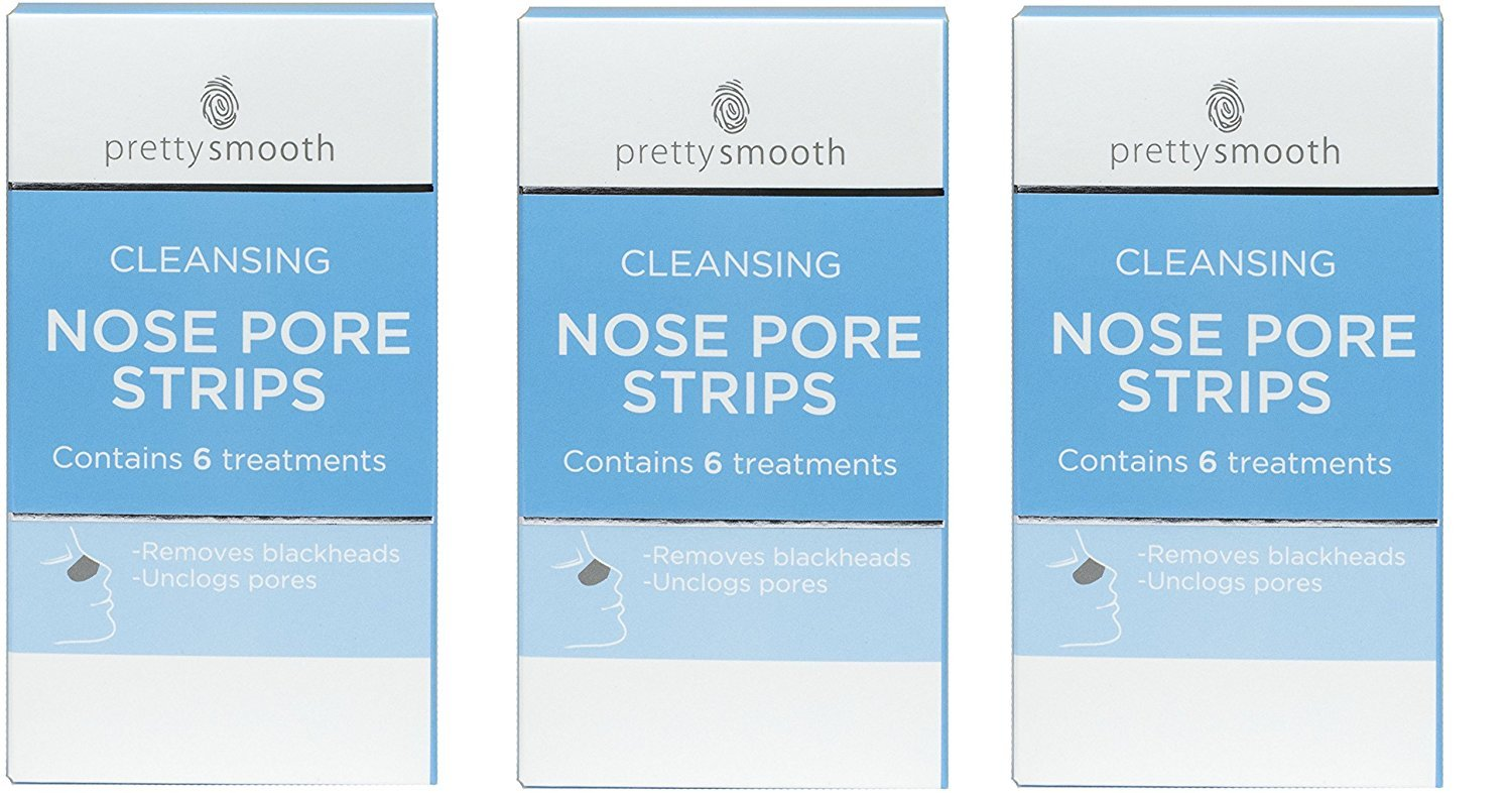 18 x Cleansing Nose Pore Strips (3 Packs of 6)