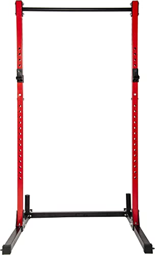 RIGERS J-Hook for Power Rack Attachment – Fit 2×2, 2×3, 3×3 Inch Tube Racks – Support up to 1000 LBS – 3 Pads Liner