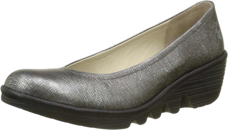 TALLA 38 EU. Fly London Pump, Zapatos de tacón con Punta Cerrada para Mujer