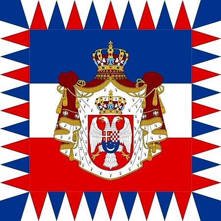 KINGDOM OF YUGOSLAVIA NATIONAL FLAG Sew on Patch Free Postage
