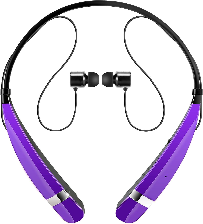 LG Tone Pro II - Auriculares in-ear, púrpura: Amazon.es: Electrónica