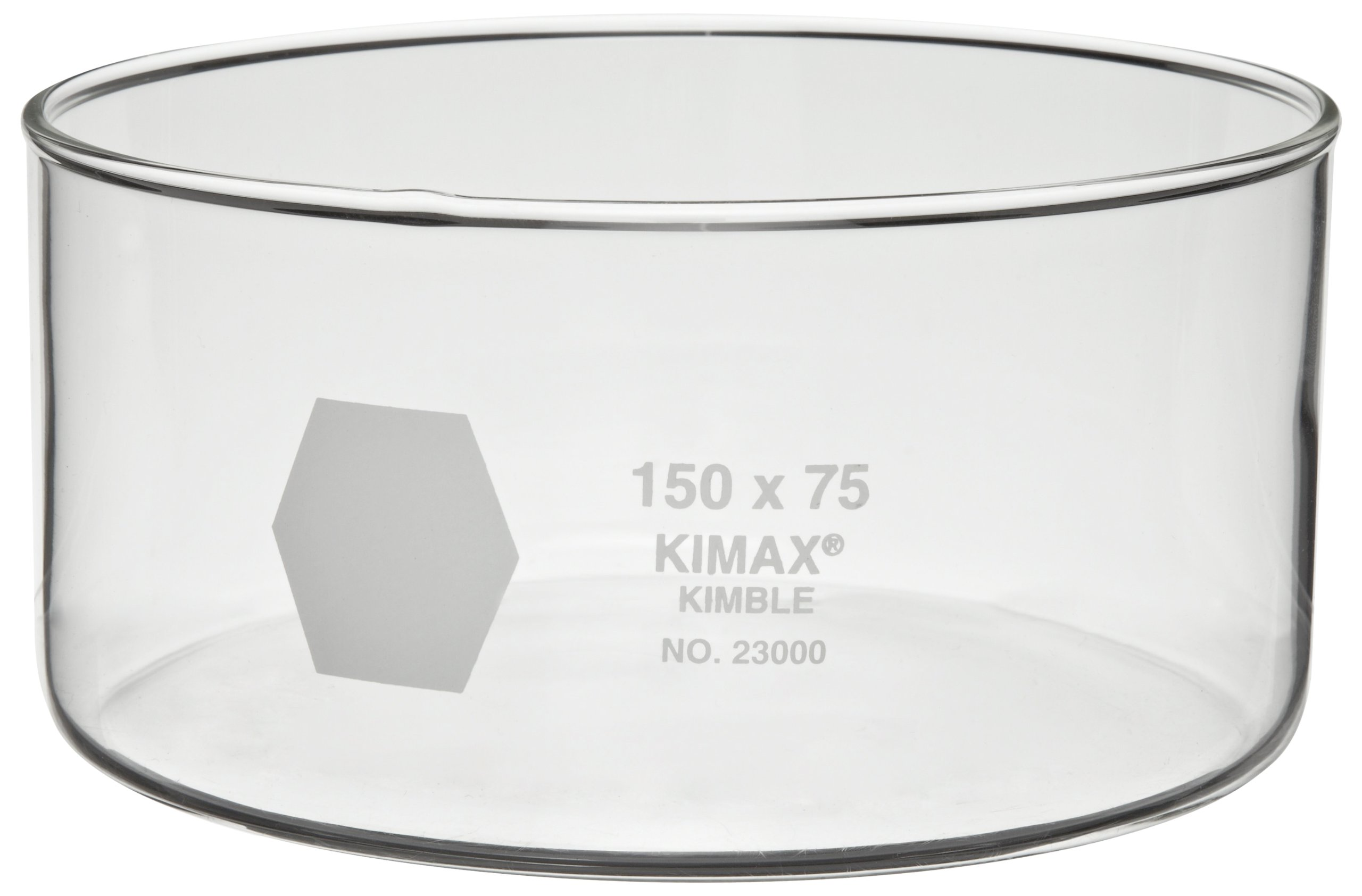 Kimax 23000-5035 Glass 50mL Crystallizing Dish, 50mm Diameter x 35mm Height (Pack of 6) by Kimax (Image #1)