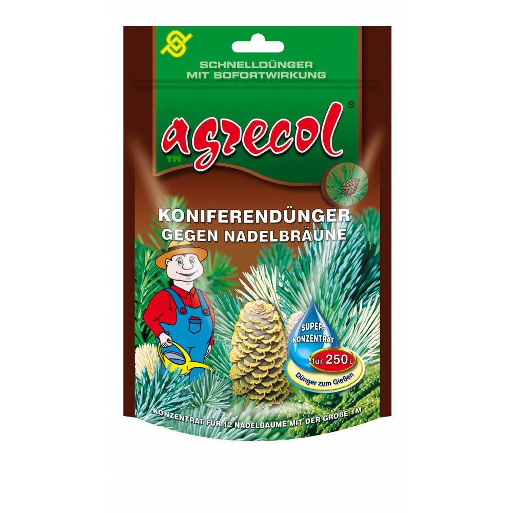 Premium coníferas abono cipreses enebro Aguja algodón abono contra clorosis (Aguja Bronceado) con efecto rápido - para 250 L Agua hochkonzentriert y ...