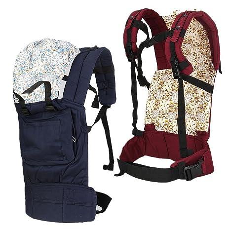 Porte-bébé, Multifuncation réglable de transport Sling Wrap Rider Sac à dos  Poche avant 9c8ba7dddf6