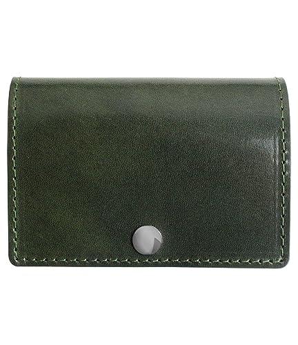 b8c6c75948f1 Dom Teporna Italy 小さい 三つ折り財布 本革 イタリアンレザー 薄型 コンパクト ウォレット サイフ メンズ