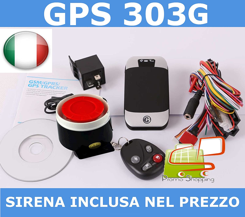 Amazon Quad band GPS vehicle tracker GPS303G with remote
