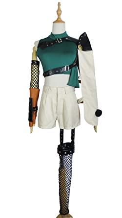 Xiao Wu Mystery Ninja Treasure Princess Yuffie Kisaragi Outfit Cosplay Costume (Female M)  sc 1 st  Amazon.com & Amazon.com: Mystery Ninja Treasure Princess Yuffie Kisaragi Outfit ...