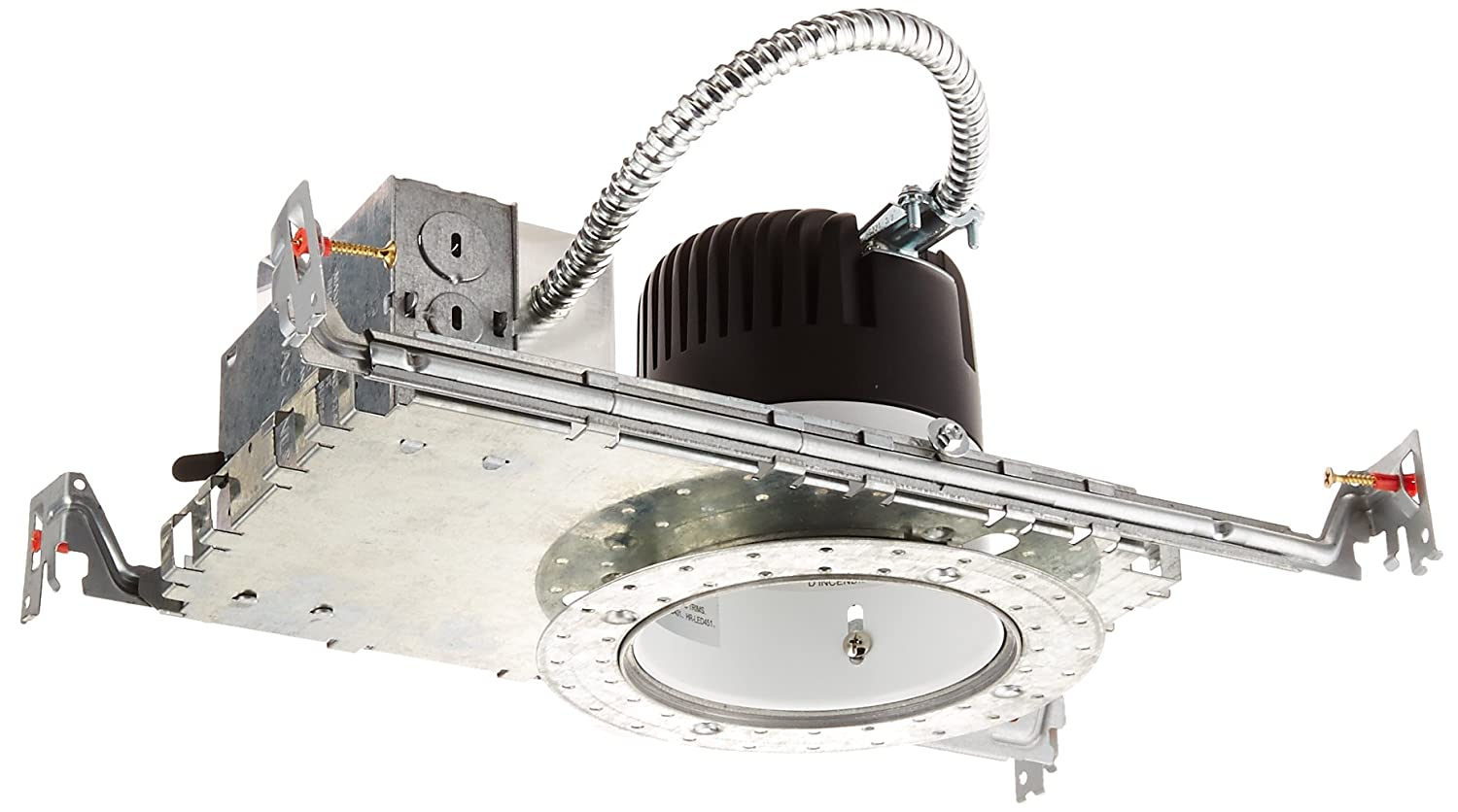 Wac lighting hr hl 4 low voltage new construction housing recessed can light - Wac Lighting Hr Led418 Nic Row Ledme 4 Inch Recessed Downlight New Construction Invisible Trim Ic Rated Housing 3000k Recessed Light Fixture