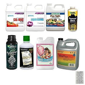 Pequeño completo aditivo Nutriente Bundle 1 litro de: Rapid ...