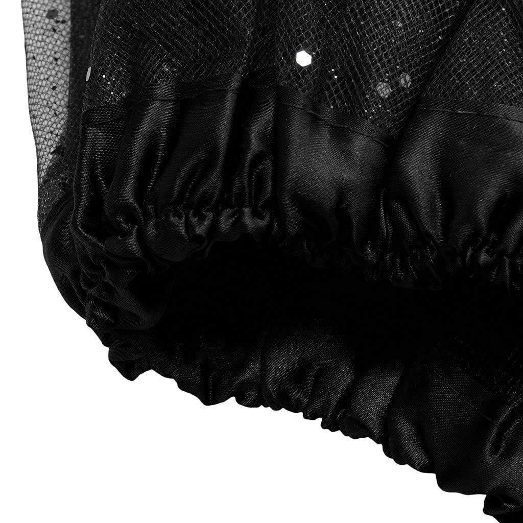 Paillette Elastic 3 Layered Short Dancewear Adult Tutu Ball Gown Dancing Skirt TOTOD Skirts for Women