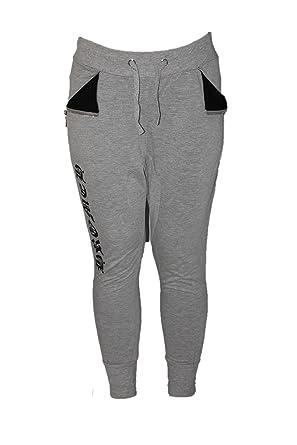 na na na-Pantalon Jogging Sarouel-Gris-Femme ou Ados  Amazon.fr ... ef400429ef9