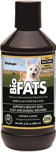 BiologicVET BioFATS Omega 3-6-9 Fatty Acid for Dogs and Cats, Liquid