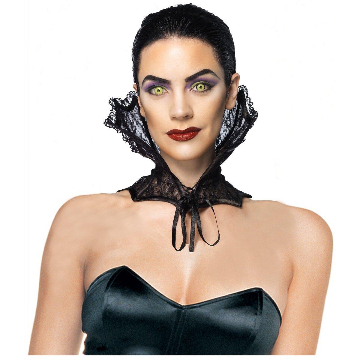 Leg Avenue Lace Corset Collar Costume Accessory, Black, One Size