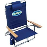 $58 » Tommy Bahama 5-Position Classic Lay Flat Folding Backpack Beach Chair