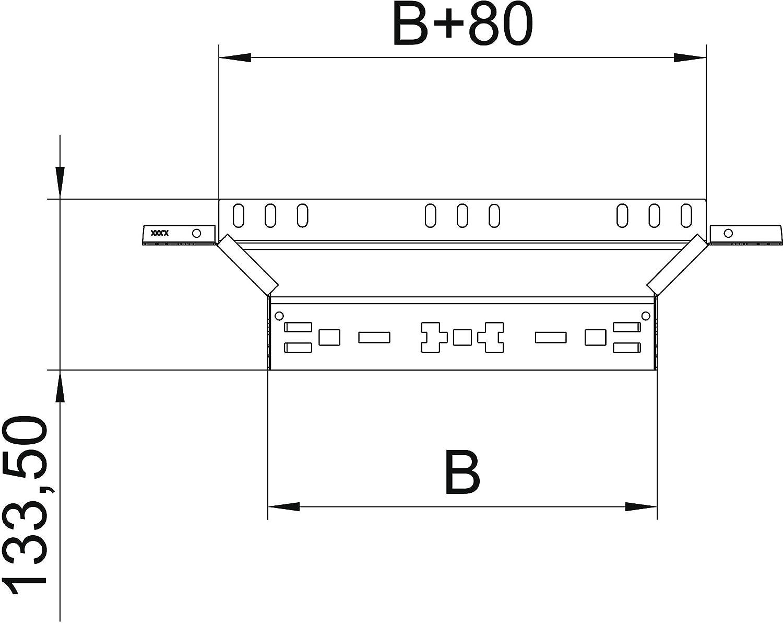 OBO Bettermann Cultivation-Shape Piece RAAM 620 FS 60 x 200 MM MAGIC ...