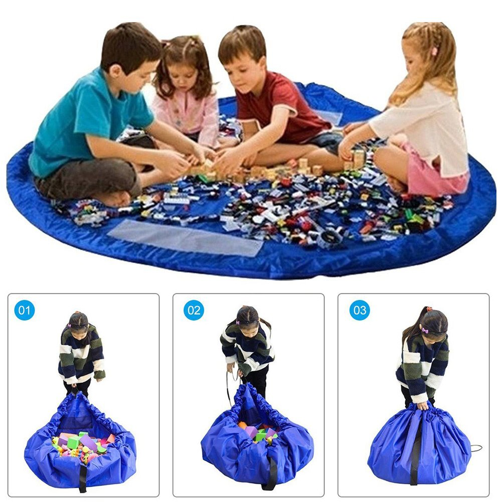 Toocoo Bolsa para Guardar Juguetes Ideal para Lego Duplo y Juguetes para