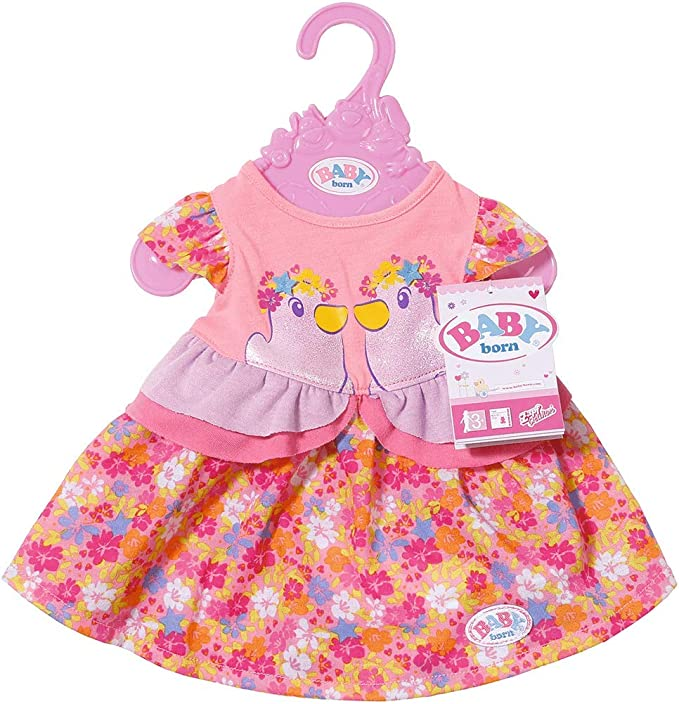 Zapf Baby Born Romper assortment Choose from 2 Doll Cloths
