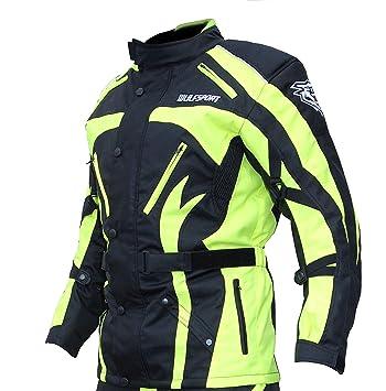 Wulfsport Hiviz Mmotorbike Enduro Rally & Trail - Chaqueta ...