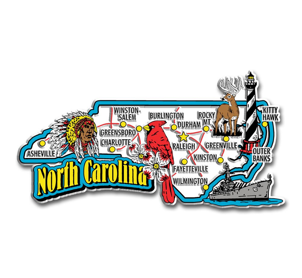Alabama State Jumbo Map Magnet Classic Magnets