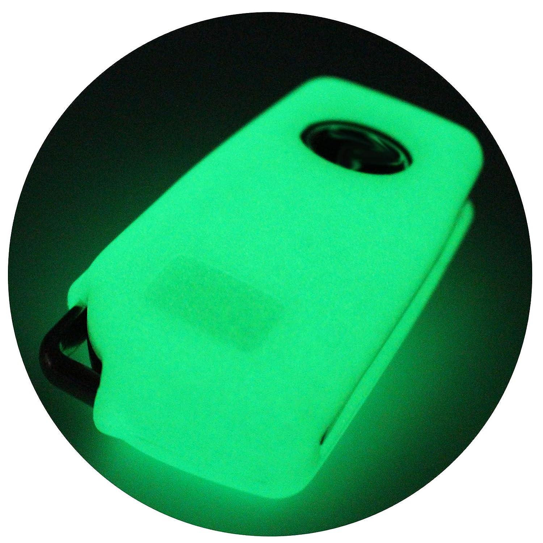 Custodia per chiave auto Finest-Folia rivestimento in silicone Lilla a 3 pulsanti