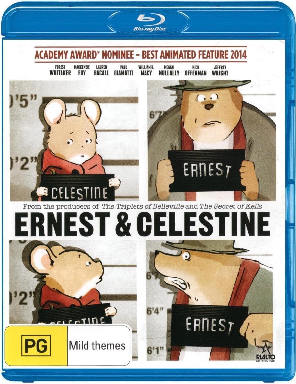 Ernest Celestine Amazon Co Uk Dvd Blu Ray