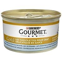 Purina - Gourmet Gold en Salsa Guiso a la Cazuela - Pack de 24 x 85 g - Total 2040 g
