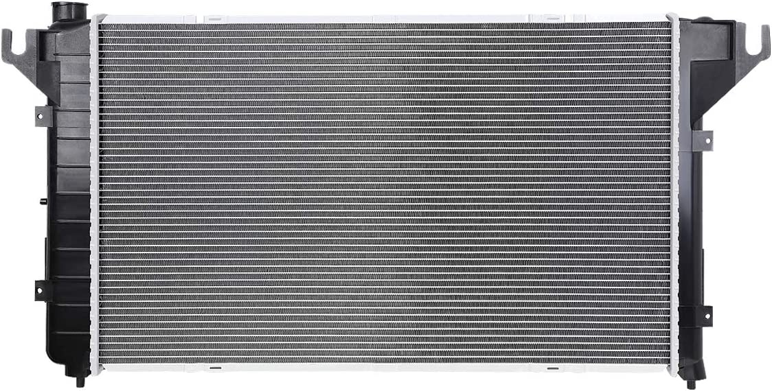 Replacement for 94-02 Dodge Ram//Ramcharger V8 AT Lightweight OE Style Full Aluminum Core Radiator DPI 2291