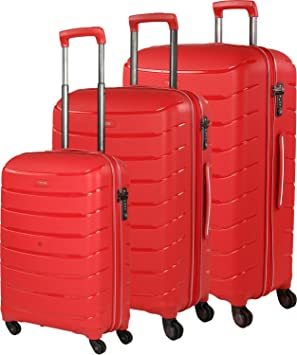 0144a14fca2e9 TITAN Limit 4w Trolley Set L/M exp./S, Pink, 823102-17 Luggage Set ...