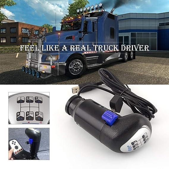 COLOR TREE Botón de Cambio de Marchas USB de un camión Man Juegos ...