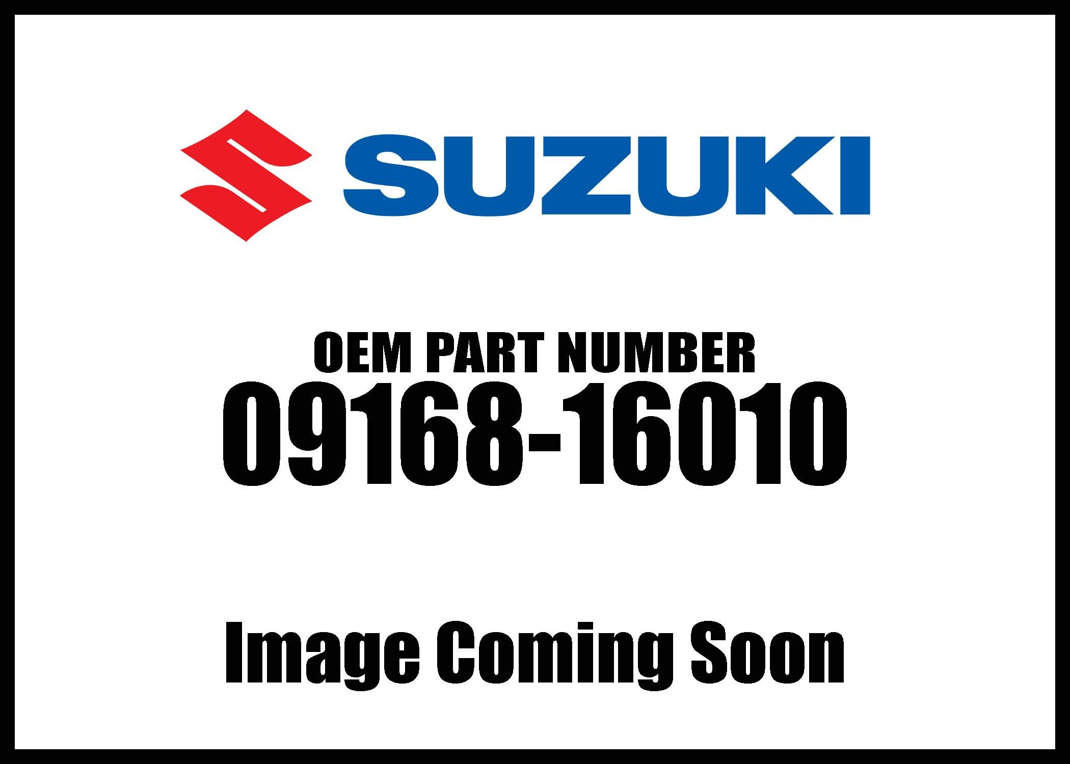 Suzuki Gasket16x22x2 09168-16010 New Oem