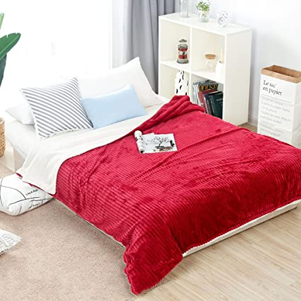 Coral Blanket Flannel Nap Blanket Single Double Thick Sheets Students  Seasons Blanket Bedding Pattern Dormitory Bedroom