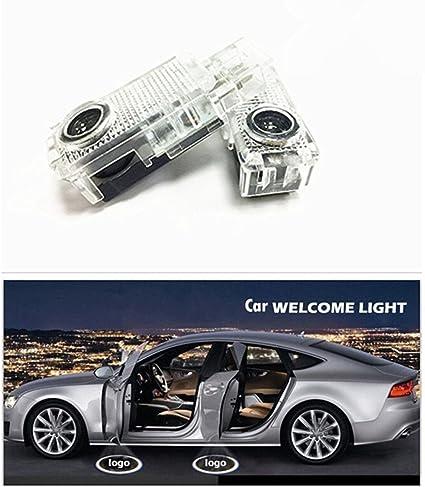 znystar voiture Projecteur LED Lampe de porte Bienvenue Ghost Ombre de laser Logo de courtoisie Kit