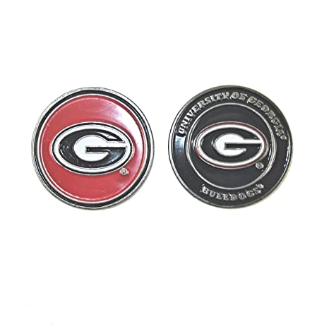 1fa432dc125 Image Unavailable. Image not available for. Color  Georgia Bulldogs Double- Sided UGA Golf Ball Marker