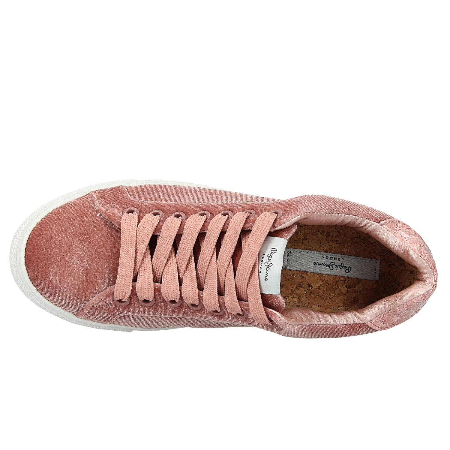Zapatillas Pepe Jeans PLS30753 Adams Velour 39 EU|Rosa