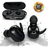 ONEXELOT Wireless headphones bluetooth earbuds with microphone Wireless Sports Earphones with charging box, wireless earbuds for iPhone,Samsung, Android mod ICARUS