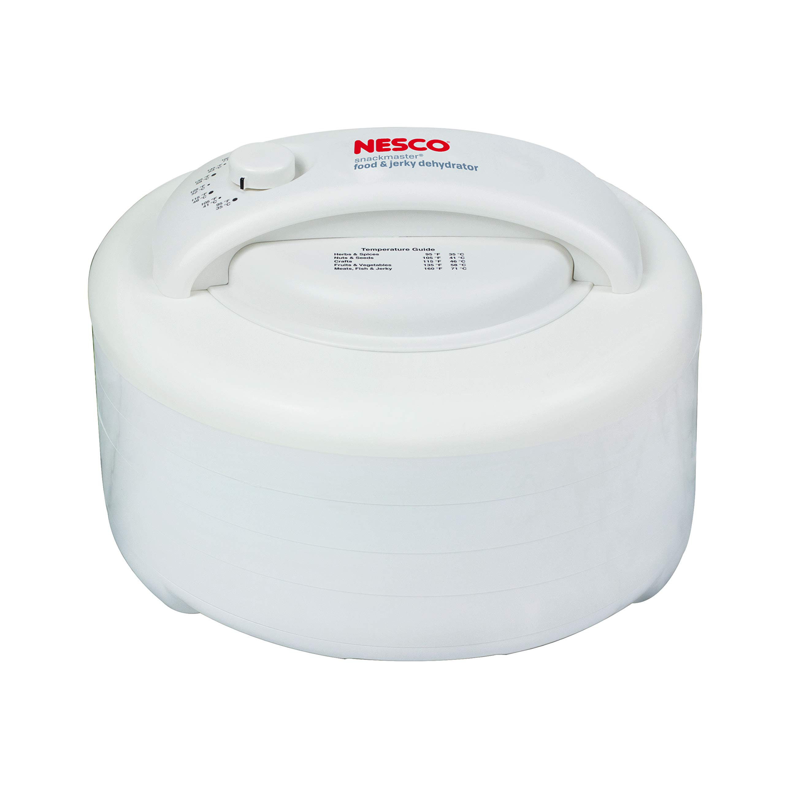 NESCO FD-60, Snackmaster Express Food Dehydrator, White, 500 watts by Nesco