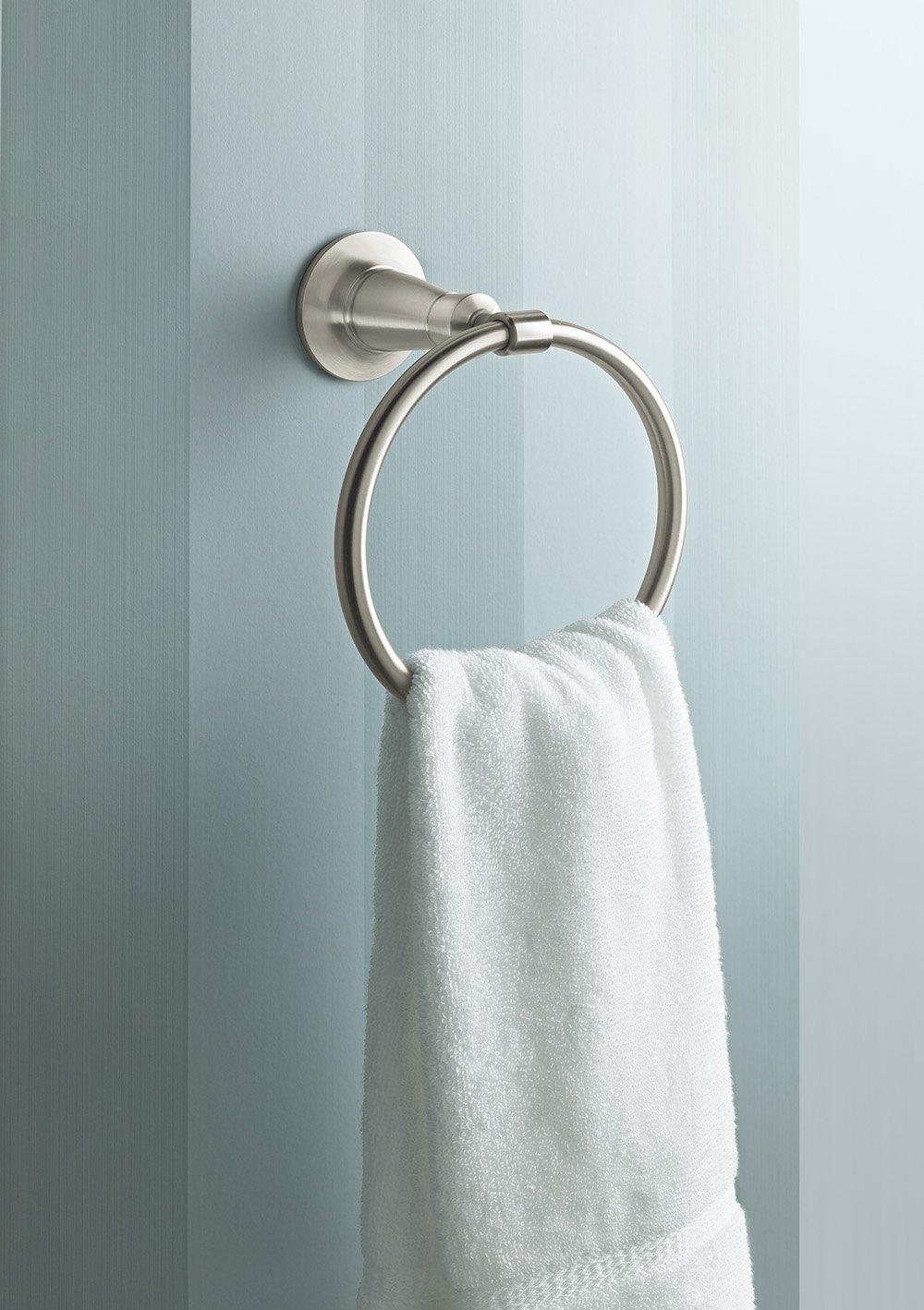 Kohler K-11057-CP Archer Towel Ring, Polished Chrome by Kohler (Image #2)