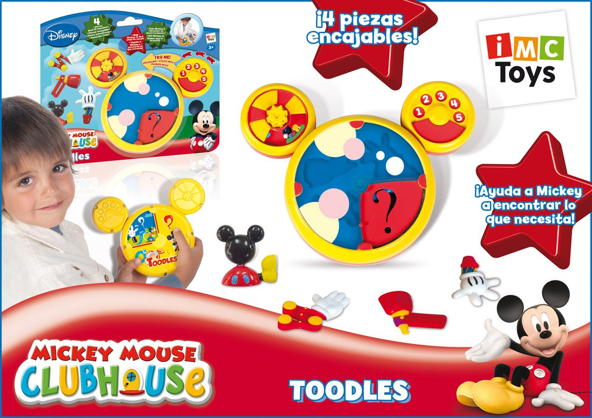 Imc Clubhouse Mickey Toodles, Multi Color