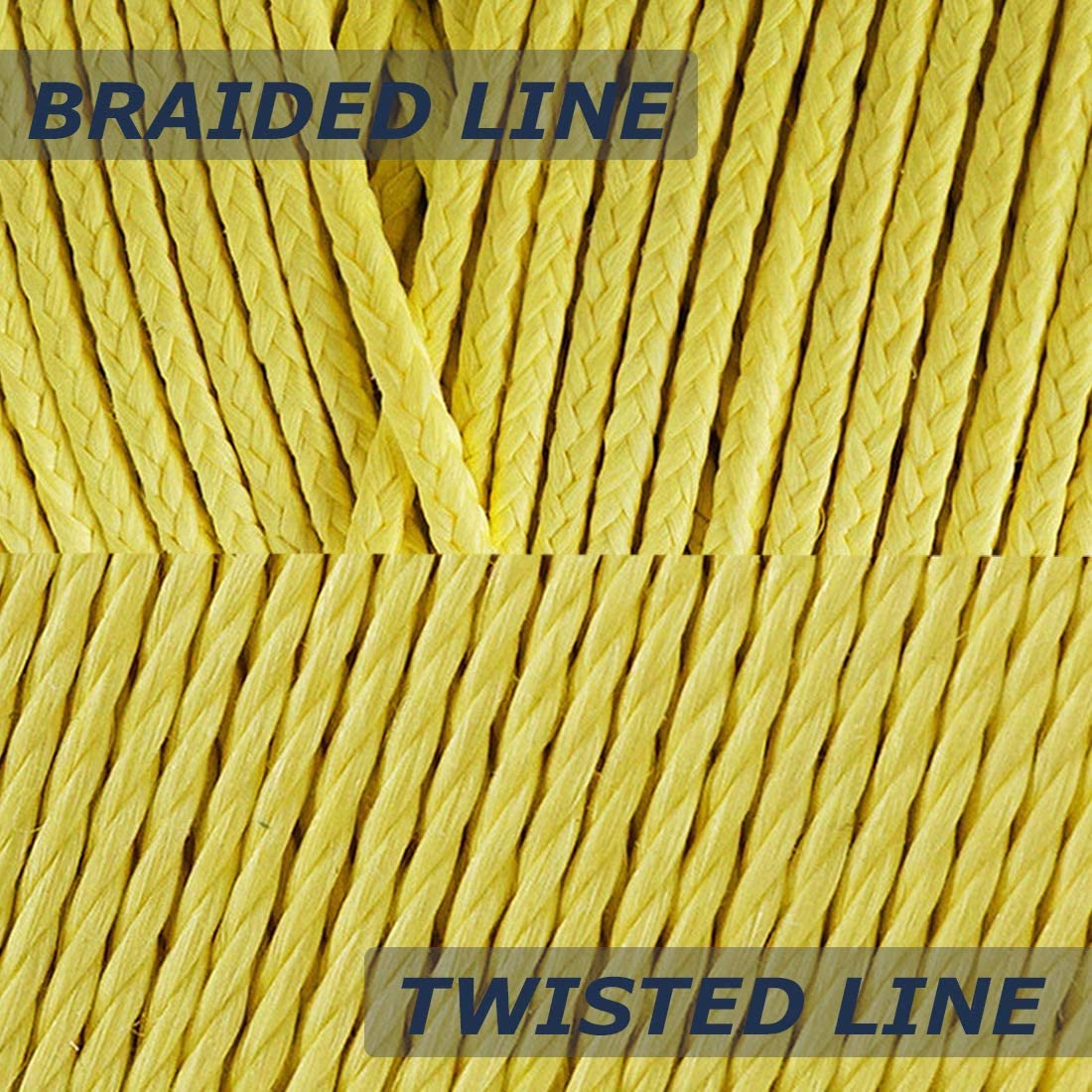 70lb 1000ft Twisted Kevlar Line Cut Resistant Fishing Line Kite Flying Camping