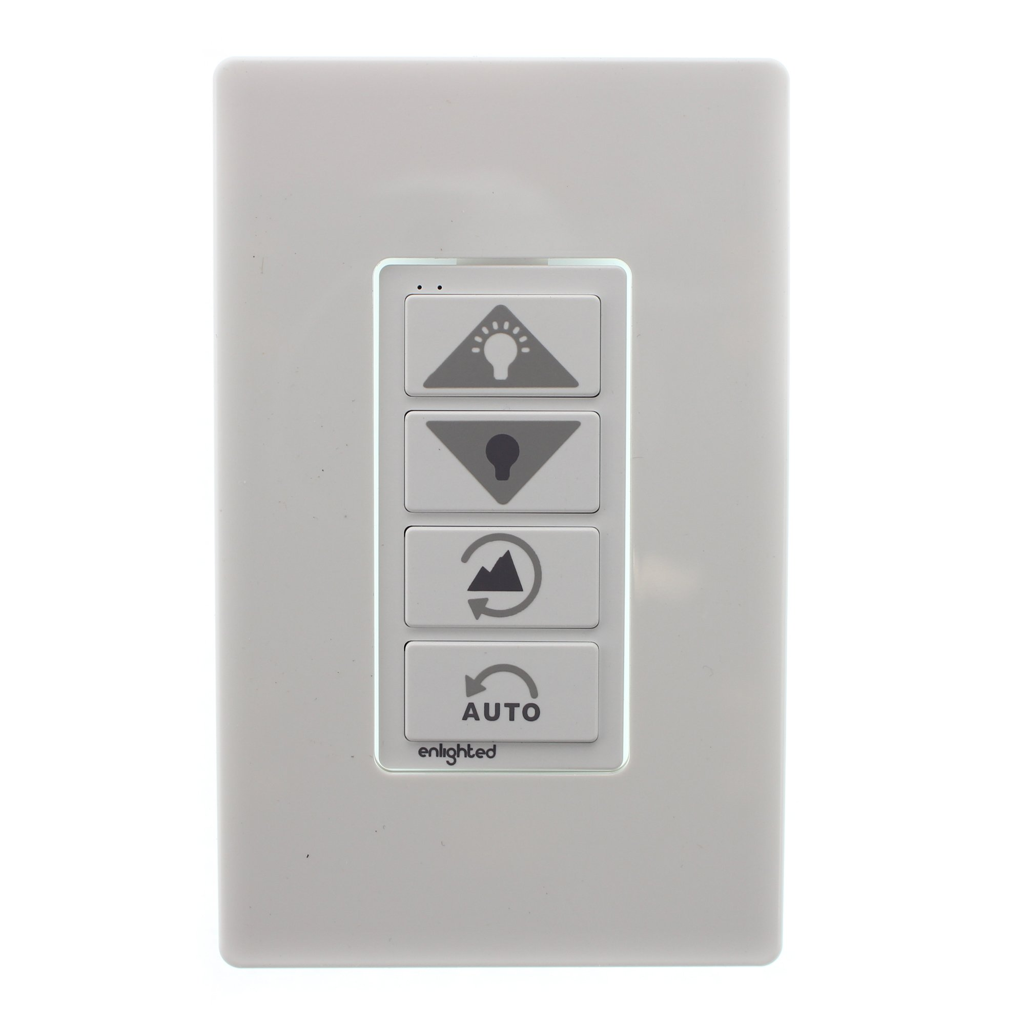 Enlighted Lighting WS-2-00 Wireless Lighting Control Switch, 4-Button, White