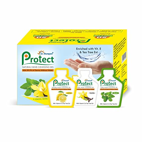 Buy Dr Morepen Pure Instant Protect Hand Sanitizer For Travelling