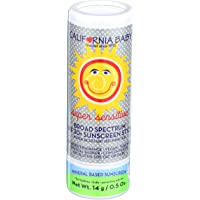 California Baby Super Sensitive Broad Spectrum SPF 30+ Sunscreen Stick