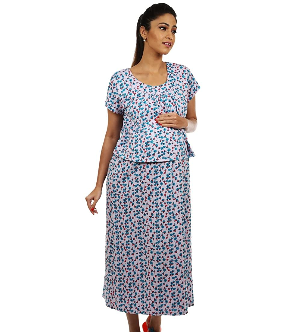 0b37866dc79 Kriti Comforts Lilac Night wear: Amazon.in: Clothing & Accessories