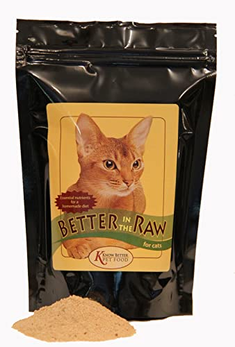 Better in The Raw for Cats – Make Your own Homemade raw cat Food Cat Food Supplement