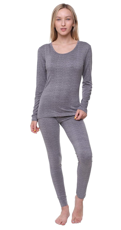 Outland Women's Thermal Set, Lightweight Ultra Soft Fleece Shirt and Tights