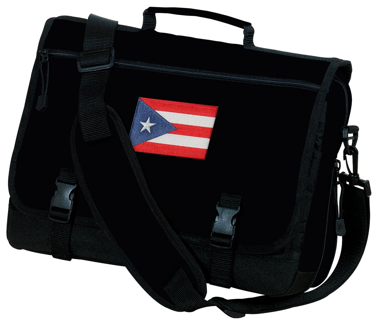Puerto Rico Flag Laptop Bag Puerto Rico Computer Bag or Messenger Bag
