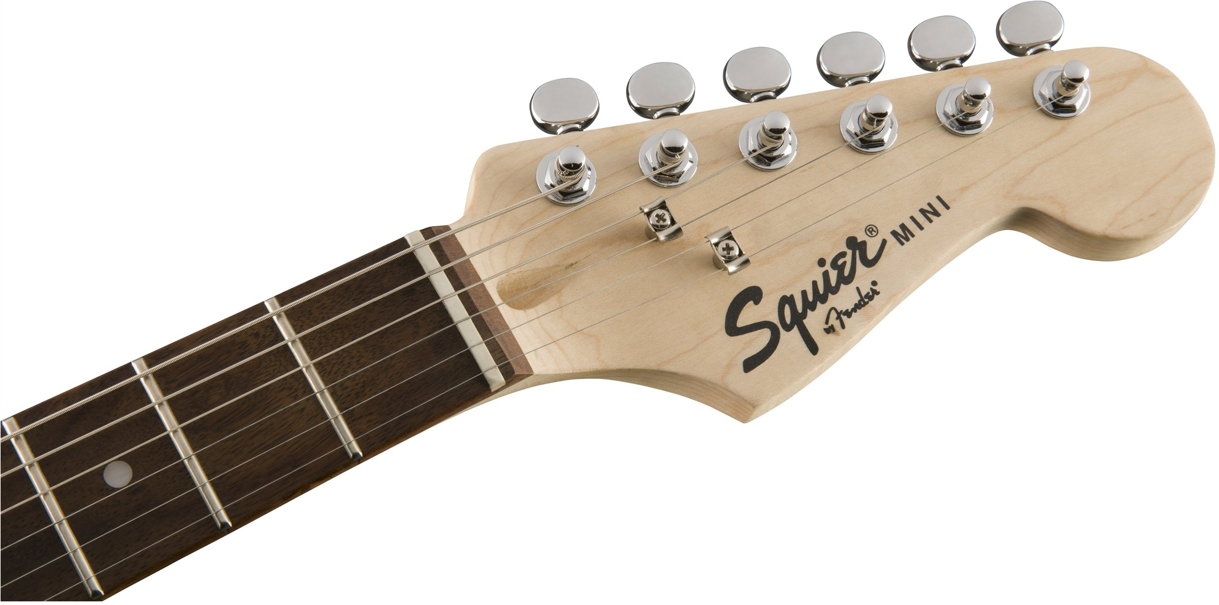 Squier by Fender Mini Stratocaster Beginner Electric Guitar - Indian Laurel Fingerboard - Torino Red by Fender (Image #5)