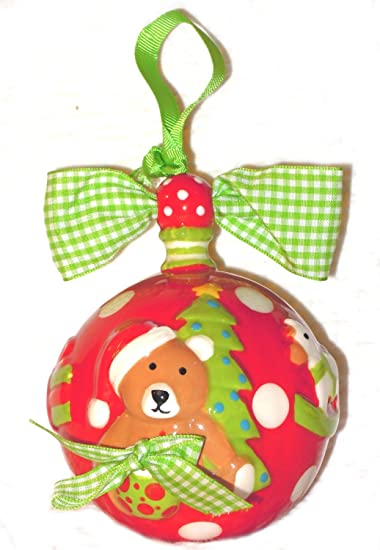 Amazoncom Mud Pie 4 My First Christmas Ornament Discontinued By
