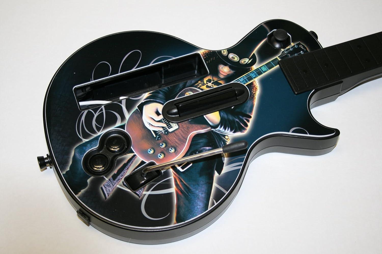 Wii Les Paul Wireless Guitar W//SLASH FACEPLATE