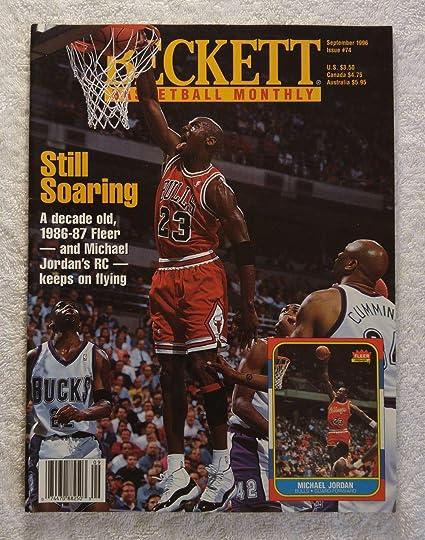 71dbf27461cc Michael Jordan - Chicago Bulls - Beckett Basketball Monthly Magazine ...